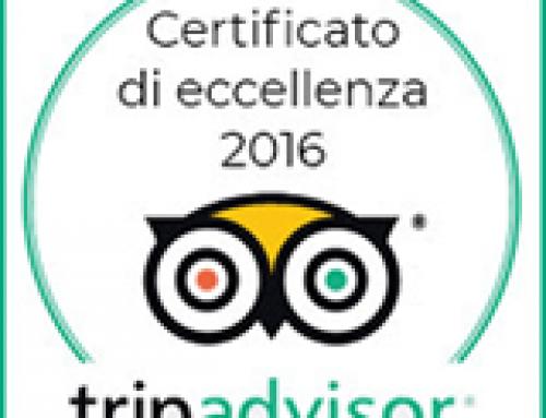 Certificato di eccellenza 2016